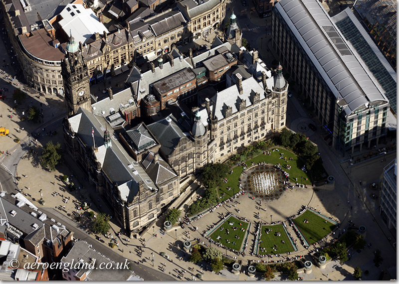 aerial photo of
