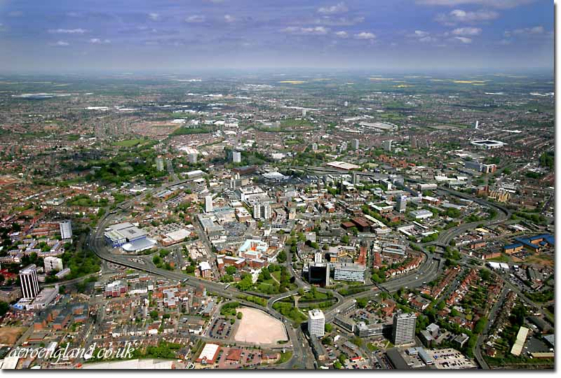 Aerial Photographs Of Coventry